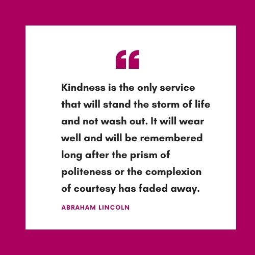 Kindness quotes from famous people