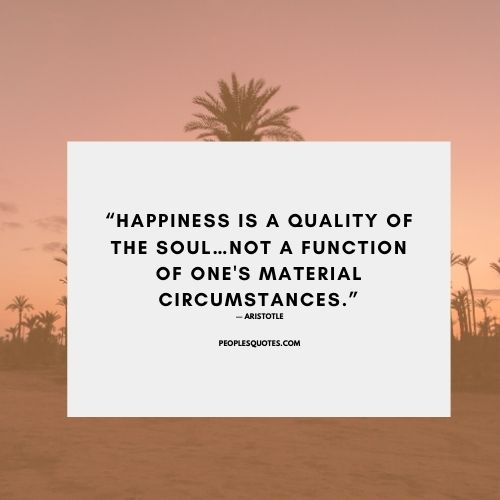 Aristotle quotes about happiness with pictures