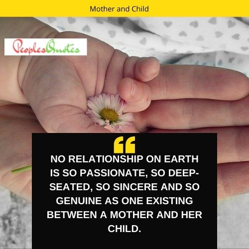 a mother and child quotes