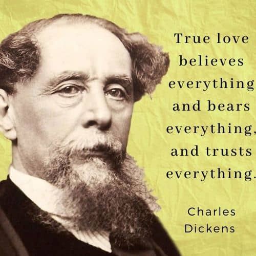 Charles Dickens quotes on love