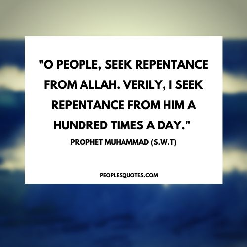 Quotes About Forgiveness in Islam by the Prophet Muhammad (PBUH)