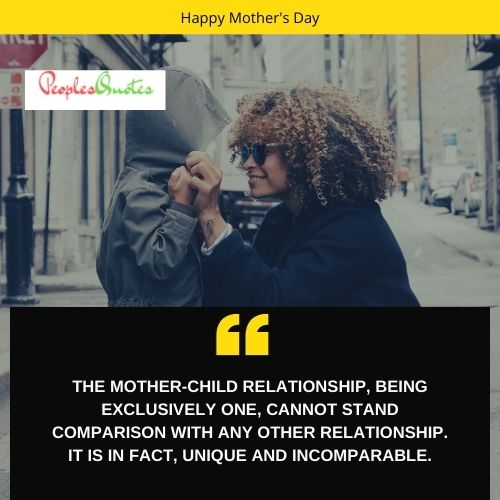 Mother and child bonding quotes