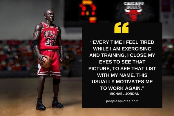 Michael Jordan on Basketball