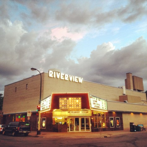A neighborhood movie theater in MPLS