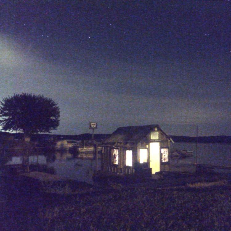 Shantyboat near Muscatine, Iowa