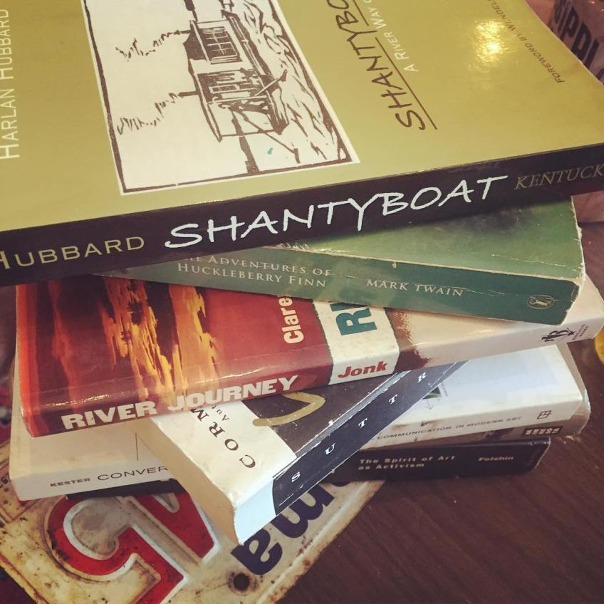 Shanty books at Florence exhibition