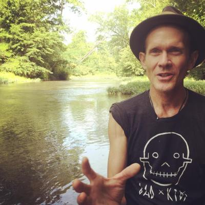 An interview with artist Butch Anthony literally sitting in Cypress Creek