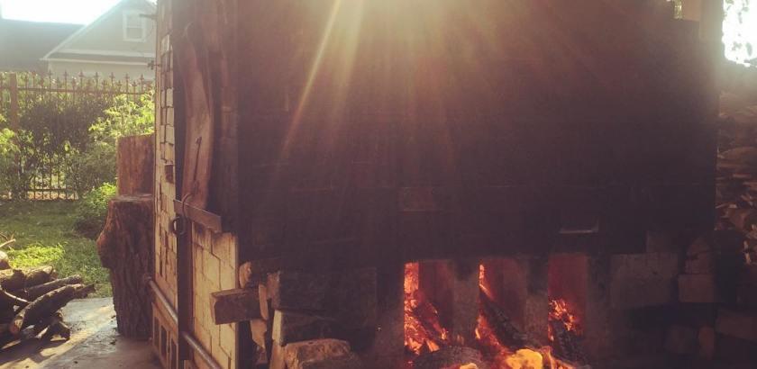 Lowertown Sunday kiln firing with Mitch Kimball