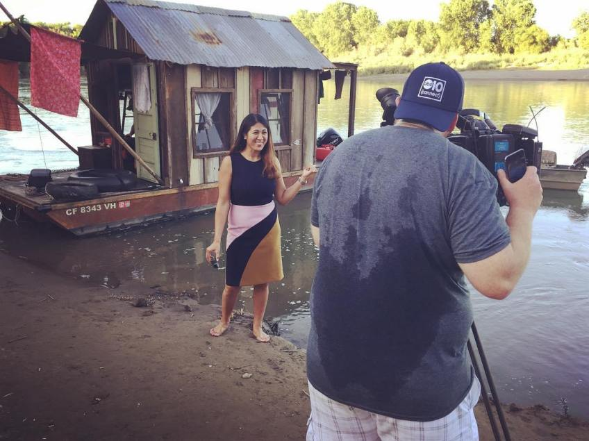 ABC10 out of Sacramento has us do stupid human boating tricks for an extensive report about the Secret History project