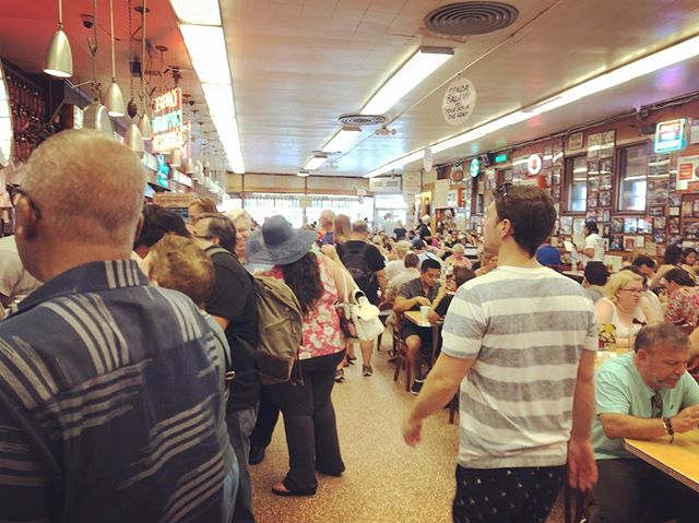 The beautiful chaos of Katz's Delicatessen #nyc #eastvillage #lowereastside #manhattan
