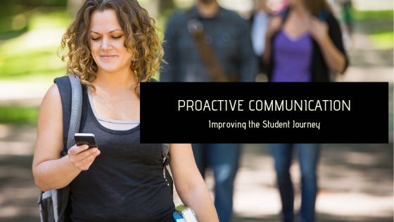 proactive communication with students