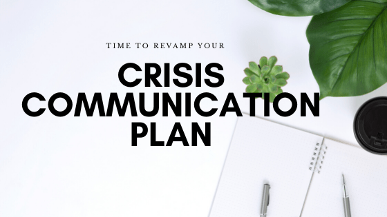 crisis communication blog banner