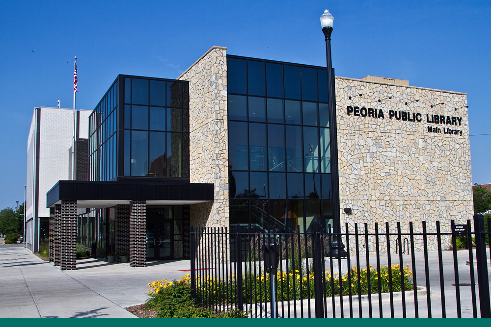 Peoria Public Library's Main Branch