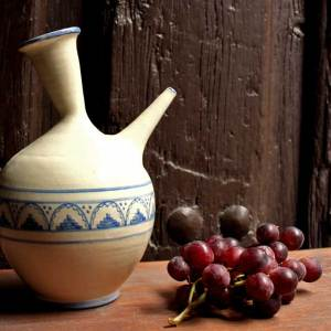 Porrón cerámica siglo XVII