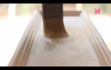 Pintar mueble con pintura de tiza o chalk paint