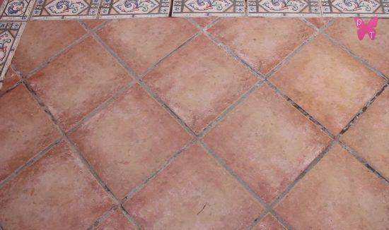 Como limpiar las baldosas del bao elegant amazing - Como limpiar las juntas del suelo de gres ...