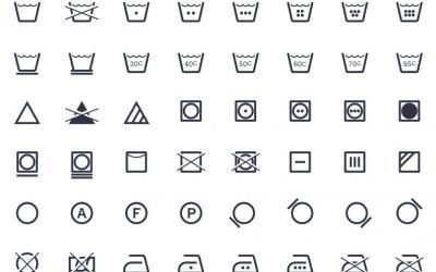 Qué significan los símbolos de lavado de las etiquetas de la ropa