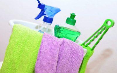Mis productos de limpieza básicos para el hogar.