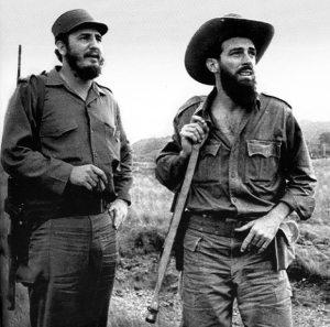 Fidel y Camilo en la Sierra Maestra