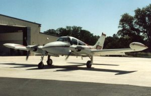 Avioneta Cessna 310, similar a la de Camilo Cienfuegos.