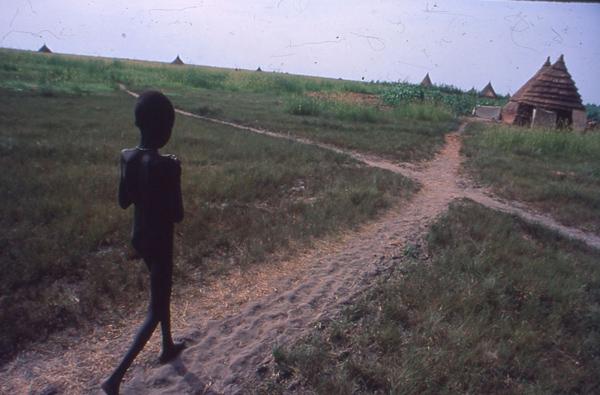 Niños 'perdidos' en la guerra de Sudán del Sur (Foto: LUIS DAVILLA)