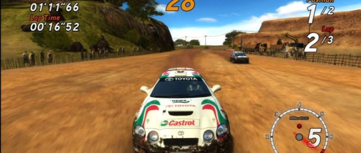 SEGA Rally Online Arcade PlayStation 3 SEGA Rally Online Arcade_3
