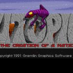 Utopia: The Creation of a Nation Amiga Pantalla de título