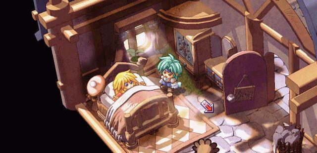 Zwei!! Windows  ¿cuántos RPG japoneses comienza con el protagonista en la cama?..