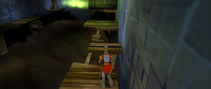 Dragon's Lair 3D: Return to the Lair Windows  Salta con cuidado.