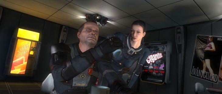 Alpha Prime Windows  introduciendo Arnold y Livia.