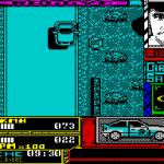 Carlos Sainz ZX Spectrum  es bastante poco espectacular, pero esta es la línea de meta,