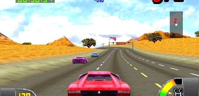 Cruis'n USA Nintendo 64  Algunos rivales