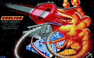 Leviathan Atari ST Pantalla de título