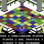 Powerplay: The Game of the Gods Commodore 64  Un desafío.