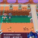 Transformers G1: Awakening J2ME  Optimus Prime diálogo