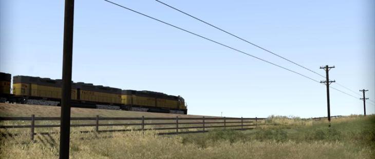 TS: Union Pacific DD35 Windows TS: Union Pacific DD35_7