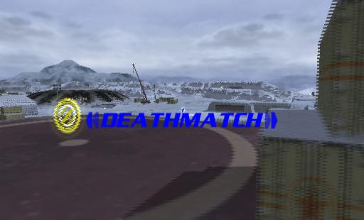 Hardware: Online Arena PlayStation 2  Iniciando una misión de entrenamiento. Una vez que el área se ha cargado parece como si el jugador puede seleccionar el tipo de partido que desea jugar, pero no pueden