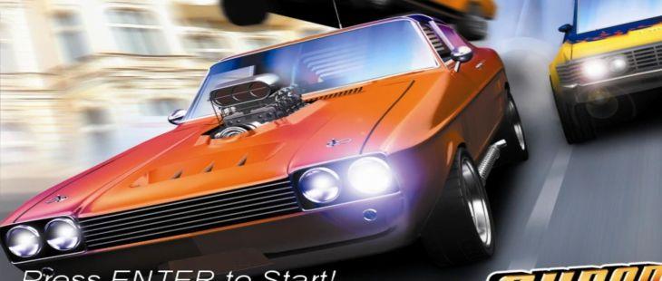 The Super Drive Windows  menu