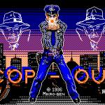 Cop-Out Amstrad CPC  pantalla de carga.