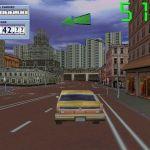 Taxi Racer Windows  acercándose a una intersección grande.