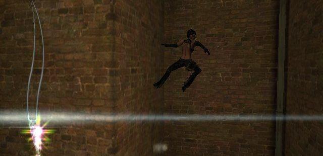 Catwoman Windows  lugares estrechos se pueden utilizar para ir hacia arriba