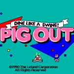 Pig Out Arcade Pantalla de título
