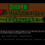 Scott Adams' Graphic Adventure #2: Pirate Adventure Atari 8-bit  pantalla de bienvenida
