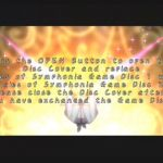 Tales of Symphonia GameCube  Pantalla de cambio de disco