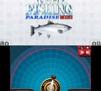 Reel Fishing 3D Paradise Mini Nintendo 3DS Reel Fishing 3D Paradise Mini_0