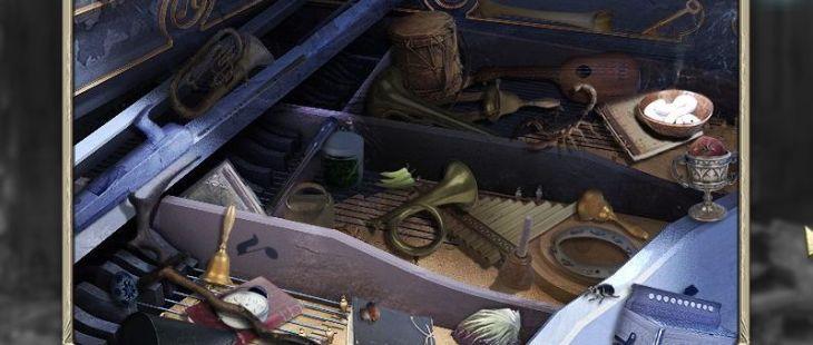 Princess Isabella: A Witch's Curse Macintosh  Piano Lounge planta principal (maldito)- objetos