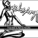 Blue Angel 69 DOS  Pantalla de título (CGA).