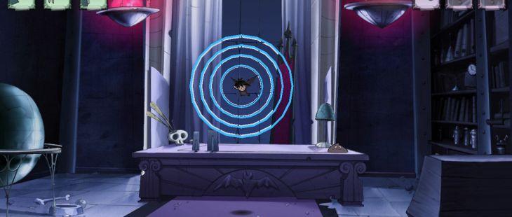 Die Schule der kleinen Vampire: Knoblauchalarm Windows  modo murciélago te permite detectar objetos ocultos