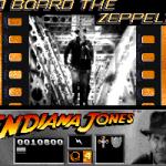 Indiana Jones and the Last Crusade: The Action Game Amiga  nivel 3-a bordo del Zeppelin.
