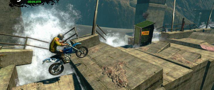 Trials Evolution Xbox 360  una serie de saltos rápidos